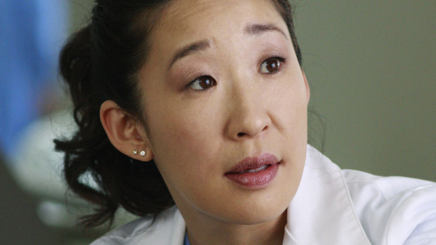 "GREY'S ANATOMY - ""Blink""- Mark flies Addison to Seattle to help with a difficult procedure on his pregnant daughter, Sloan, Owen questions Teddy's motives when she assigns Cristina the lead on a complicated surgery, and Derek's suspicions are raised when the Chief recruits Meredith to assist with a high profile operation on, ""Grey's Anatomy,"" THURSDAY, JANUARY 14 (9:00-10:01 p.m., ET) on the ABC Television Network. (ABC/RON TOM)SANDRA OH"