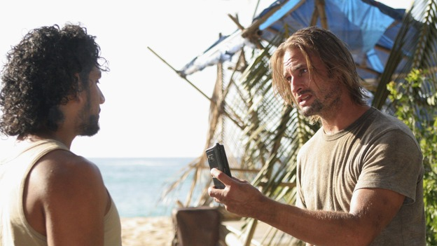 "LOST -  ""The Man Behind the Curtain"" - Ben begrudgingly begins to introduce Locke to the secrets of the island, beginning with the mysterious Jacob. Meanwhile, Juliet's secret goes public, on ""Lost,"" WEDNESDAY, MAY 9 (10:00-11:00 p.m., ET), on the ABC Television Network. (ABC/MARIO PEREZ)NAVEEN ANDREWS, JOSH HOLLOWAY"