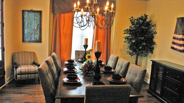 EXTREME MAKEOVER HOME EDITION - &quot;Thomas Family,&quot; - Dining Rooms, on &quot;Extreme Makeover Home Edition,&quot; Sunday, February 11th on the ABC Television Network.