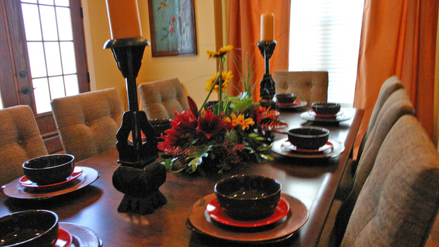 "EXTREME MAKEOVER HOME EDITION - ""Thomas Family,"" - Dining Rooms, on ""Extreme Makeover Home Edition,"" Sunday, February 11th on the ABC Television Network."