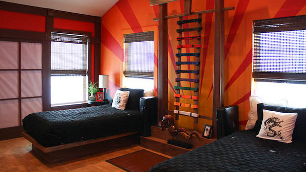 "EXTREME MAKEOVER HOME EDITION - ""Arboleda Family,"" - Boy's Bedroom Pictures, on ""Extreme Makeover Home Edition,"" Sunday, October 17th(8:00-9:00 p.m. ET/PT) on the ABC Television Network."