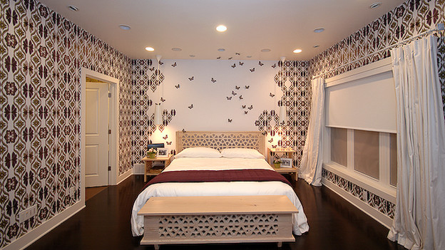 "EXTREME MAKEOVER HOME EDITION - ""Powell Family,"" - Master Bedroom, on ""Extreme Makeover Home Edition,"" Sunday, January 24th on the ABC Television Network."