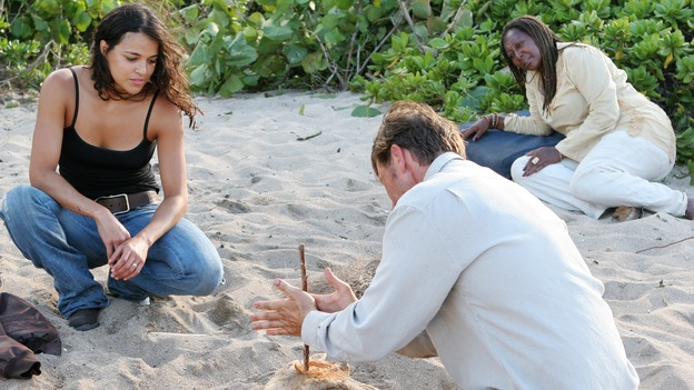 "LOST - ""The Other 48 Days"" (ABC/MARIO PEREZ)MICHELLE RODRIGUEZ, BRETT CULLEN"