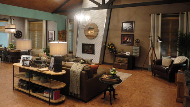 "EXTREME MAKEOVER HOME EDITION - ""Gibbs Family,"" - Living Room Picture, on  ""Extreme Makeover Home Edition,"" Friday, January 6th (8:00-10:00   p.m.   ET/PT) on the ABC    Television Network."