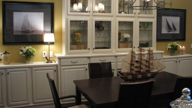 "EXTREME MAKEOVER HOME EDITION - ""Guinta,"" -  Dining Room, on ""Extreme Makeover Home Edition,"" Sunday, May 11th on the ABC Television Network."
