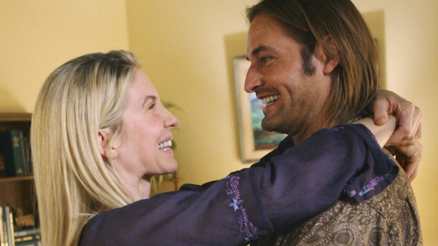 "LOST - ""LaFleur"" - Sawyer perpetuates a lie with some of the other island survivors in order to protect themselves from mistakes of the past, on ""Lost,"" WEDNESDAY, MARCH 4 (9:00-10:02 p.m., ET) on the ABC Television Network. (ABC/MARIO PEREZ)ELIZABETH MITCHELL, JOSH HOLLOWAY"