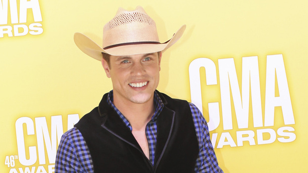 "THE 46TH ANNUAL CMA AWARDS - RED CARPET ARRIVALS - ""The 46th Annual CMA Awards"" airs live THURSDAY, NOVEMBER 1 (8:00-11:00 p.m., ET) on ABC live from the Bridgestone Arena in Nashville, Tennessee. (ABC/SARA KAUSS)DUSTIN LYNCH"