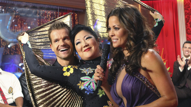 DANCING WITH THE STARS - &quot;Episode 1101&quot; - The Season 11 star-studded cast and their professional partners get ready to break in their dancing shoes on ABC's &quot;Dancing with the Stars&quot; for the long awaited two-hour season premiere, MONDAY, SEPTEMBER 20 (8:00-10:01 p.m., ET) on the ABC Television Network. (ABC/ADAM LARKEY)LOUIS VAN AMSTEL, MARGARET CHO, BROOKE BURKE