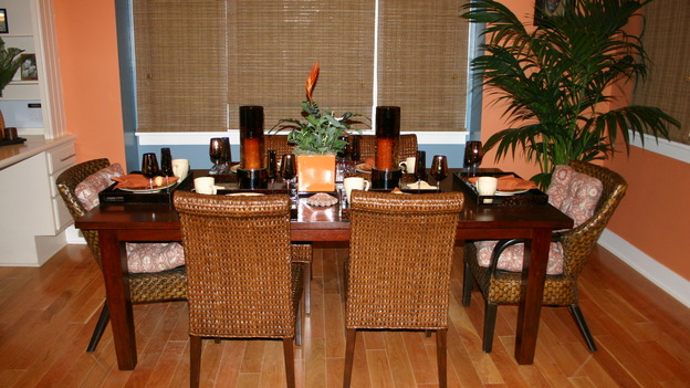EXTREME MAKEOVER HOME EDITION - &quot;Ripatti Family,&quot; - Dining Room, on &quot;Extreme Makeover Home Edition,&quot; Sunday, December 10th on the ABC Television Network.