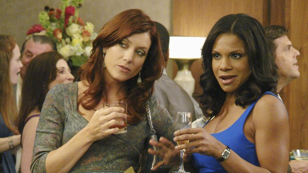 "PRIVATE PRACTICE - ""Tempting Faith"" - Addison receives a surprise visit from her brother and fellow surgeon, Archer, and his presence not only causes trouble for her, but for Naomi and Sam as well. Meanwhile Meg returns to try to make it work with Pete, and a patient accused of a malicious crime stirs up anger and emotions, for both Violet and Dell, on ""Private Practice,"" WEDNESDAY, NOVEMBER 26 (9:00-10:01 p.m., ET) on the ABC Television Network. (ABC/RICHARD CARTWRIGHT)KATE WALSH, AUDRA MCDONALD"