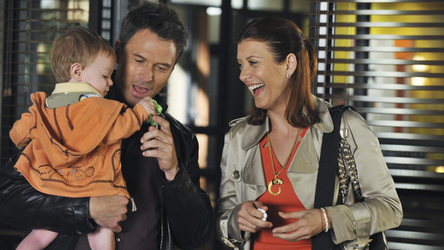 PRIVATE PRACTICE - &quot;Second Choices&quot; - After her open-ended escape to Costa Rica, Violet has finally returned home and to the practice.  Everyone treads a little lightly around her, especially Pete and Addison who have mixed feelings about Violet's desire to reconnect with Lucas.  Meanwhile Amelia butts into Sam's personal life, pointing out that he can mend hearts in the OR but can't seem to do that for himself;  and Sheldon encourages Charlotte to reconcile with Cooper, while Cooper deals with a young patient who eats everything in sight, on &quot;Private Practice,&quot; THURSDAY, APRIL 22 (9:00-10:00 p.m., ET) on the ABC Television Network. (ABC/ERIC MCCANDLESS) TIM DALY, KATE WALSH