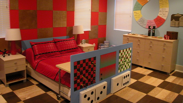 EXTREME MAKEOVER HOME EDITION - &quot;Tom Family,&quot; - Boy's Bedroom, on &quot;Extreme Makeover Home Edition,&quot; Sunday, November 6th on the ABC Television Network.