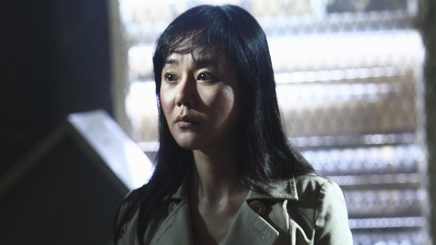"LOST - ""Namaste"" - When some old friends drop in unannounced, Sawyer is forced to further perpetuate his lie in order to protect them, on ""Lost,"" WEDNESDAY, MARCH 18 (9:00-10:02 p.m., ET) on the ABC Television Network. (ABC/MARIO PEREZ)YUNJIN KIM"
