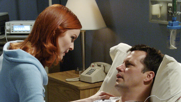 "DESPERATE HOUSEWIVES - ""COME BACK TO ME"" (ABC/DANNY FELD) MARCIA CROSS, STEVEN CULP"