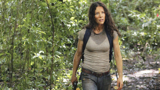 "LOST - ""Sundown"" - Sayid is faced with a difficult decision, and Claire sends a warning to the temple inhabitants, on ""Lost,"" TUESDAY, MARCH 2 (9:00-10:00 p.m., ET) on the ABC Television Network. (ABC/MARIO PEREZ)EVANGELINE LILLY"