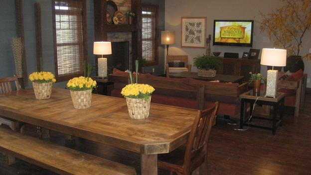 "EXTREME MAKEOVER HOME EDITION - ""Pauni Family,"" - Dining Rooms, on ""Extreme Makeover Home Edition,"" Sunday, November 26th on the ABC Television Network."