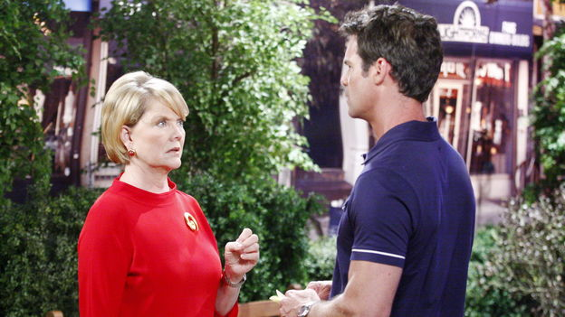 Tuc Watkins as David Vickers, Erika Slezak as Viki BanksOne Life to Live