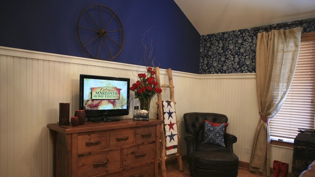 "EXTREME MAKEOVER HOME EDITION - ""Hampton Family,"" - Master Bedroom, on ""Extreme Makeover Home Edition,"" Sunday, October 4th on the ABC Television Network."