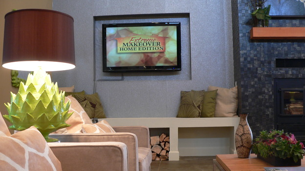 "EXTREME MAKEOVER HOME EDITION - ""Almquist Family,"" - Living Room, on ""Extreme Makeover Home Edition,"" Sunday, March 29th on the ABC Television Network."