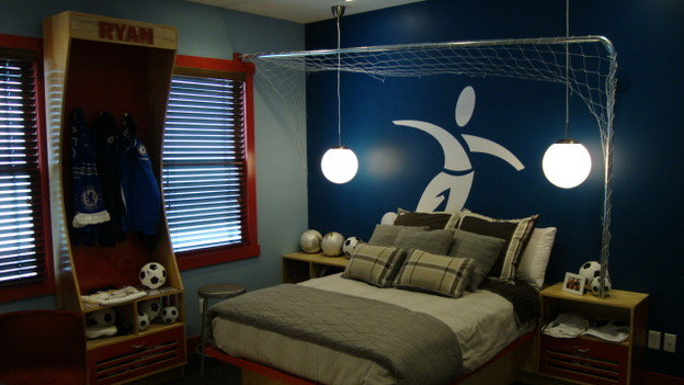 EXTREME MAKEOVER HOME EDITION - &quot;Cowan Family,&quot; - Boy's Bedroom, on &quot;Extreme Makeover Home Edition,&quot; Sunday, January 10th on the ABC Television Network.