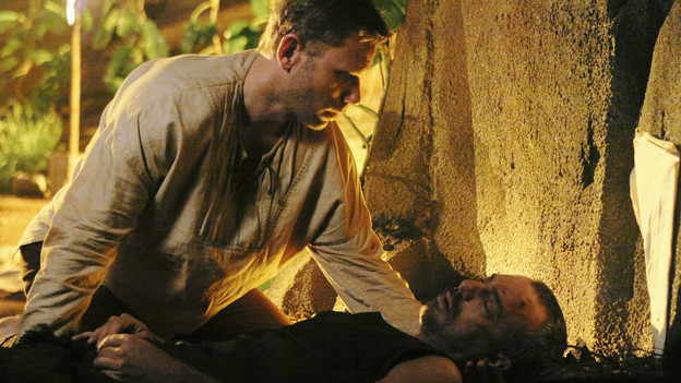 "LOST - ""Across the Sea"" - The motives of John Locke are finally explained, on ""Lost,"" TUESDAY, MAY 11 (9:00-10:00 p.m., ET) on the ABC Television Network. (ABC/MARIO PEREZ)MARK PELLEGRINO, TITUS WELLIVER"