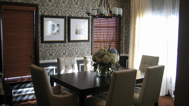 EXTREME MAKEOVER HOME EDITION - &quot;Riggins Family,&quot; -  Dining Room, on &quot;Extreme Makeover Home Edition,&quot; Sunday, January 21th on the ABC Television Network.