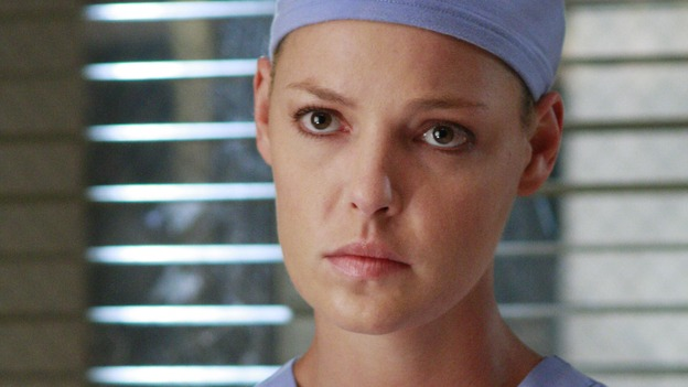 GREY'S ANATOMY - &quot;Dream a Little Dream of Me&quot; - Dr.&nbsp;Izzie Stevens, on &quot;Grey's Anatomy,&quot; THURSDAY, SEPTEMBER 25 (9:00-11:00 p.m., ET) on the ABC Television Network. (ABC/RON TOM) KATHERINE HEIGL