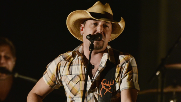 "THE 45th ANNUAL CMA AWARDS - THEATRE - ""The 45th Annual CMA Awards"" broadcast live on ABC from the Bridgestone Arena in Nashville on WEDNESDAY, NOVEMBER 9 (8:00-11:00 p.m., ET). (ABC/KATHERINE BOMBOY-THORNTON)JASON ALDEAN"