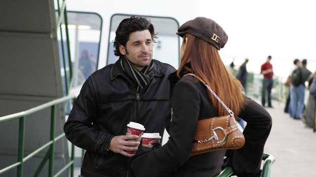 "GREY'S ANATOMY - ""Thanks for the Memories"" (ABC/CRAIG SJODIN)PATRICK DEMPSEY, KATE WALSH"