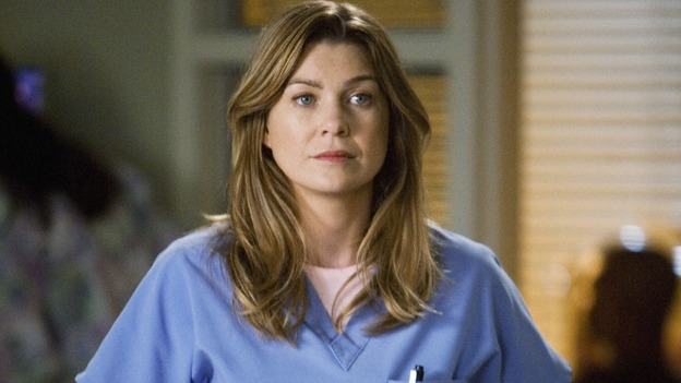 "GREY'S ANATOMY - ""Sympathy for the Devil"" - Dr. Meredith Grey, on ""Grey's Anatomy,"" THURSDAY, JANUARY 15 (9:00-10:01 p.m., ET) on the ABC Television Network. (ABC/RANDY HOLMES) ELLEN POMPEO"