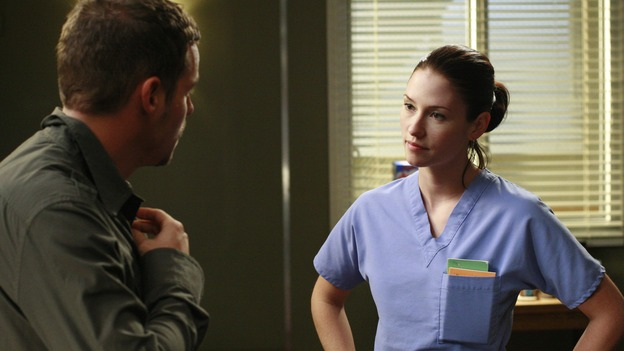 Lexie Grey, long lost half-sister of Meredith, came to Seattle Grace as an intern and was assigned to Cristina Yang's team. The initial reunion of Meredith and Lexie was a bit rocky. Meredith believed that she could have had the nice upbringing Lexie had if Thatcher hadn't left her and her mother. Meredith did eventually sit down with Lexie and explain the circumstances surrounding her mother's death. The two half-sisters bonded over this and an inkling of a friendship started to kindle. The first of Lexie's many relationships also started in her first year as well. She began a casual-sex relationship with Alex Karev, a colleague at Seattle Grace. The affair was doomed to fail from the beginning and it all blew up when she learned Alex still had feelings for Rebecca Pope. 