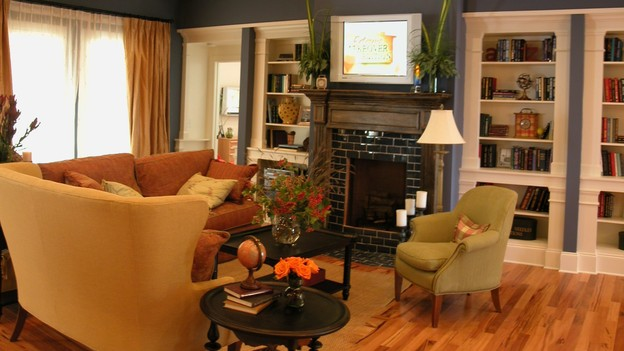 "EXTREME MAKEOVER HOME EDITION - ""Hawkins Family,"" - Living Room, on ""Extreme Makeover Home Edition,"" Sunday, October 8th on the ABC Television Network."