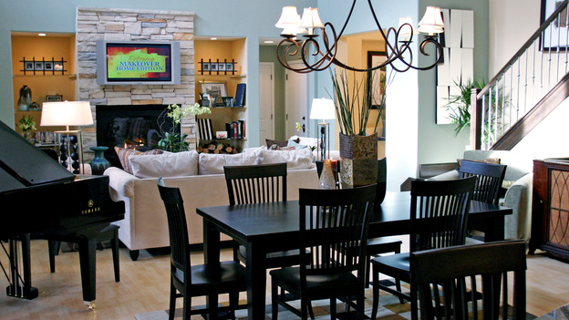 EXTREME MAKEOVER HOME EDITION - &quot;Broadbent Family,&quot; - Dining Room, on &quot;Extreme Makeover Home Edition,&quot; Sunday, December 12th on the ABC Television Network.