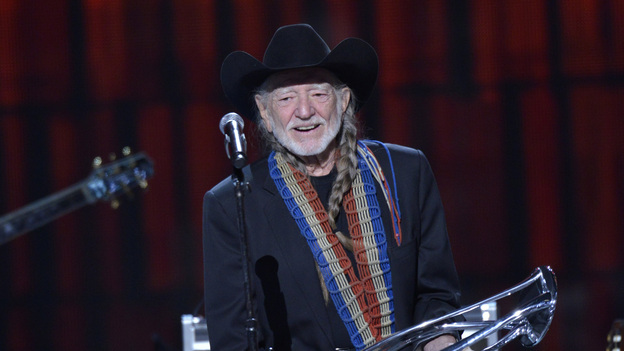 "THE 46TH ANNUAL CMA AWARDS - THEATRE - ""The 46th Annual CMA Awards"" airs live THURSDAY, NOVEMBER 1 (8:00-11:00 p.m., ET) on ABC live from the Bridgestone Arena in Nashville, Tennessee. (ABC/KATHERINE BOMBOY-THORNTON)WILLIE NELSON"