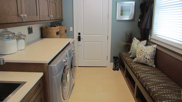 "EXTREME MAKEOVER HOME EDITION - ""McPhail Family,"" - Laundry Room Picture,           on   ""Extreme Makeover Home Edition,"" Friday, October 28th              (8:00-10:00   p.m.  ET/PT) on the ABC Television Network."