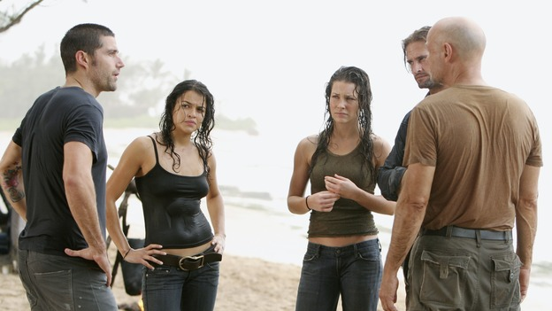 "LOST - ""Maternity Leave"" - (ABC/MARIO PEREZ)MATTHEW FOX, MICHELLE RODRIGUEZ, EVANGELINE LILLY, JOSH HOLLOWAY, TERRY O'QUINN"