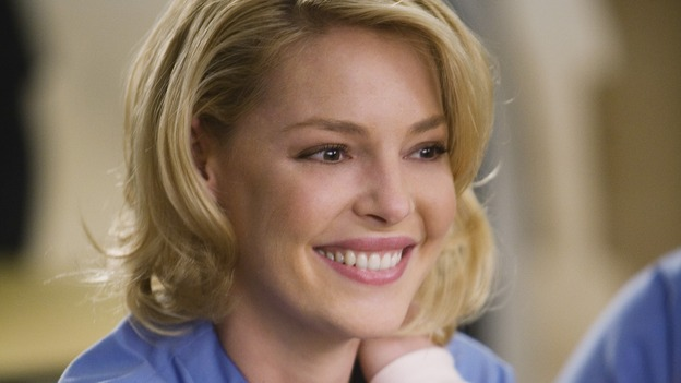 "GREY'S ANATOMY - ""Beat Your Heart Out"" - Dr. Izzie Stevens, on ""Grey's Anatomy,"" THURSDAY, FEBRUARY 5 (9:00-10:02 p.m., ET) on the ABC Television Network. (ABC/RANDY HOLMES) KATHERINE HEIGL"
