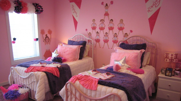 "EXTREME MAKEOVER HOME EDITION - ""Collins Family,"" - Girl's Bedroom, on ""Extreme Makeover Home Edition,"" Sunday, May 6th on the ABC Television Network."
