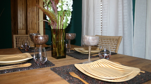 EXTREME MAKEOVER HOME EDITION - &quot;Yazzie Family&quot; - Dining Room, on &quot;Extreme Makeover Home Edition,&quot; Sunday, October 28th on the ABC Television Network.