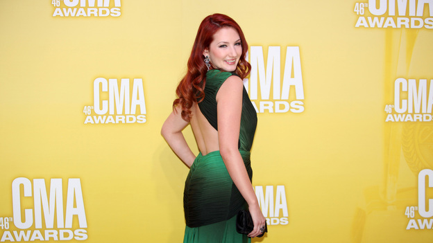 "THE 46TH ANNUAL CMA AWARDS - RED CARPET ARRIVALS - ""The 46th Annual CMA Awards"" airs live THURSDAY, NOVEMBER 1 (8:00-11:00 p.m., ET) on ABC live from the Bridgestone Arena in Nashville, Tennessee. (ABC/SARA KAUSS)KATIE ARMIGER"
