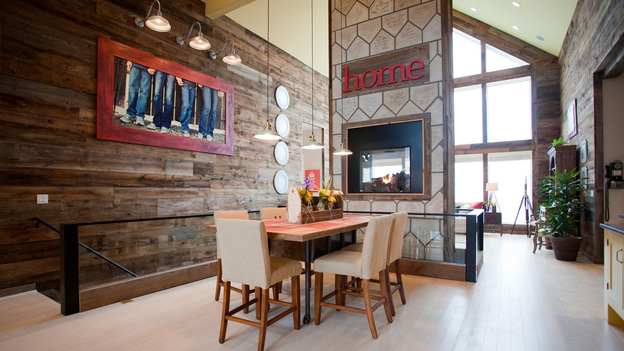 "EXTREME MAKEOVER HOME EDITION - ""Hall Family,"" - Dining Room  Picture, on ""Extreme Makeover Home Edition,"" Sunday, April  17th    (8:00-9:00 p.m. ET/PT) on the ABC Television Network."