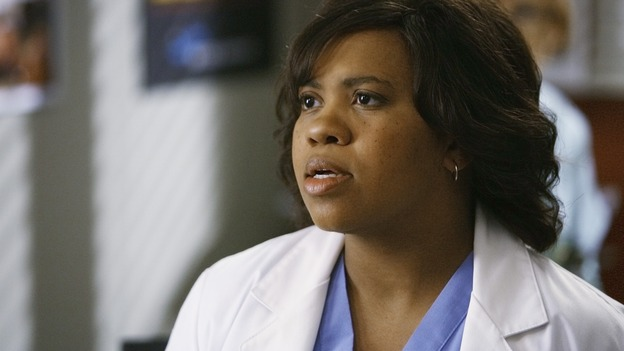 "GREY'S ANATOMY - ""Now or Never"" - Dr. Miranda Bailey responds to the news that Dr. George O'Malley has joined the U.S. Army, on ""Grey's Anatomy,"" THURSDAY, MAY 14 (9:00-11:00 p.m., ET) on the ABC Television Network. CHANDRA WILSON"