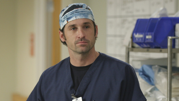 "101835_7989 -- GREY'S ANATOMY -- ""If Tomorrow Never Comes"" (ABC/SCOTT GARFIELD)PATRICK DEMPSEY"
