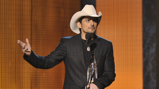 "THE 44TH ANNUAL CMA AWARDS - THEATRE - ""The 44th Annual CMA Awards"" were broadcast live from the Bridgestone Arena in Nashville, WEDNESDAY, NOVEMBER 10 (8:00-11:00 p.m., ET) on the ABC Television Network. (ABC/KATHERINE BOMBOY)BRAD PAISLEY"