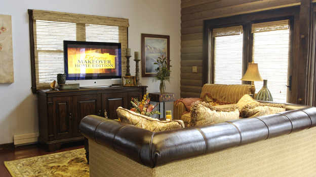 "EXTREME MAKEOVER HOME EDITION - ""Goodale Family,"" - Living Room, on ""Extreme Makeover Home Edition,"" Sunday, November 13th on the ABC Television Network."