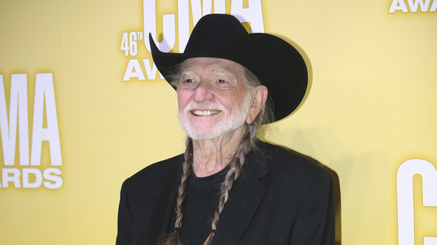 THE 46TH ANNUAL CMA AWARDS - RED CARPET ARRIVALS - &quot;The 46th Annual CMA Awards&quot; airs live THURSDAY, NOVEMBER 1 (8:00-11:00 p.m., ET) on ABC live from the Bridgestone Arena in Nashville, Tennessee. (ABC/SARA KAUSS)WILLIE NELSON