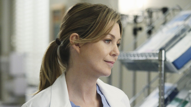 GREY'S ANATOMY - ABC's &quot;Grey's Anatomy&quot; concludes the season with a two-hour shocker, THURSDAY, MAY 20. In the first hour, entitled &quot;Sanctuary&quot; (9:00-10:00 p.m., ET), Seattle Grace Hospital is hit with a crisis like no other in its history. Then, in the second hour, &quot;Death and All His Friends&quot; (10:00-11:00 p.m., ET), Cristina and Meredith's surgical skills are put to the ultimate test. (ABC/DANNY FELD)ELLEN POMPEO