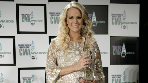 "THE 42ND ANNUAL CMA AWARDS - GENERAL - ""The 42nd Annual CMA Awards"" aired live from the Sommet Center in Nashville, WEDNESDAY, NOVEMBER 12 (8:00-11:00 p.m., ET) on the ABC Television Network. (ABC/ADAM LARKEY)CARRIE UNDERWOOD"