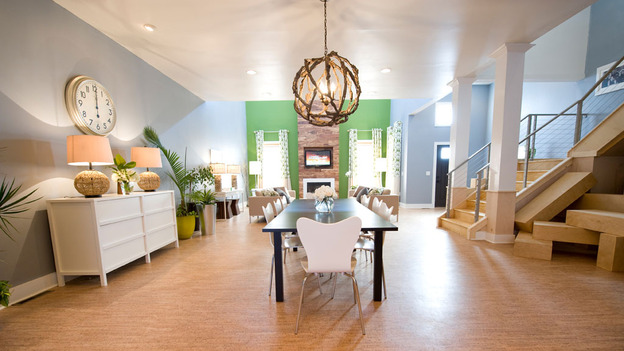 "EXTREME MAKEOVER HOME EDITION - ""Hill Family,"" - Dining Room  Picture, on  ""Extreme Makeover Home Edition,"" Sunday, April 24th     (8:00-9:00 p.m.  ET/PT) on the ABC Television Network."