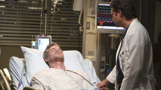 "GREY'S ANATOMY - ""Remember the Time"" - (ABC/DANNY FELD)ERIC DANE, PATRICK DEMPSEY"